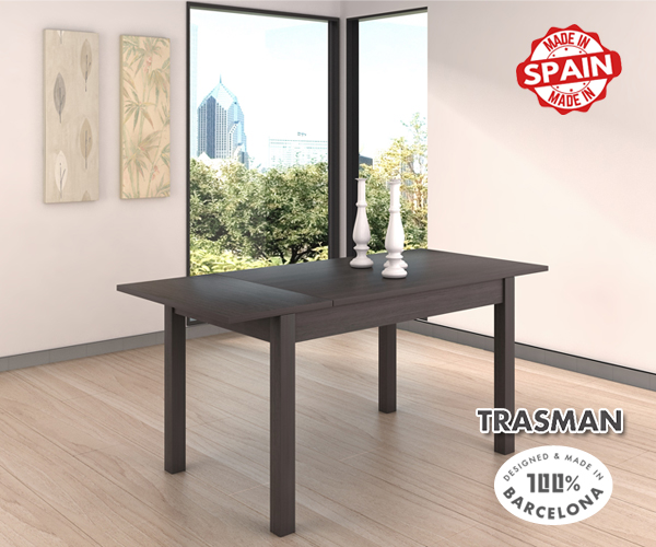 Dining Table Extra Anthrac