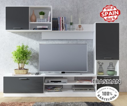 Wall Unit White Shade STUDO